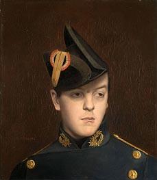 Gerome | Portrait of Armand Gerome, 1848 | Giclée Canvas Print