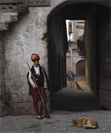 Gerome   The Guard, 1889   Giclée Canvas Print