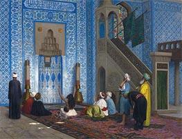 Gerome   Rustem Pasha Mosque, Istanbul, undated   Giclée Canvas Print