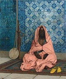 Gerome   The Black Bard, 1888   Giclée Canvas Print