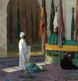 Gerome   The Tomb of Sultan, undated   Giclée Canvas Print