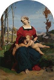 Gerome   The Virgin and Child with Saint John the Baptist, 1848   Giclée Canvas Print