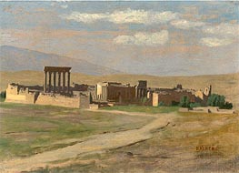 Gerome   View of Baalbek, undated   Giclée Canvas Print