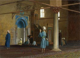 Gerome   Prayer in the Mosque, undated   Giclée Canvas Print