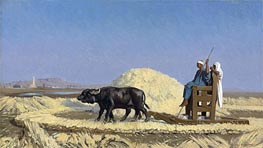 Gerome   Egyptian Grain-Cutters, undated   Giclée Canvas Print
