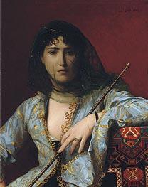 Gerome   Veiled Circassian Beauty, 1876   Giclée Canvas Print