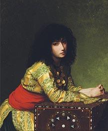 Gerome | Egyptian Girl, 1877 | Giclée Canvas Print