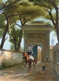 Gerome | Return to the Palace, 1892 | Giclée Canvas Print