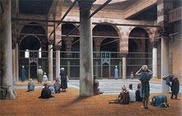 Gerome | Interior of a Mosque, c.1890/99 | Giclée Canvas Print