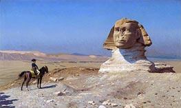 Gerome | Napoleon Bonaparte Before the Sphinx, c.1867/68 | Giclée Canvas Print