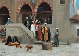 Gerome | Leaving the Mosque, undated | Giclée Canvas Print