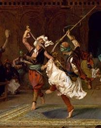 Gerome | The Pyrrhic Dance (Detail), 1885 | Giclée Canvas Print