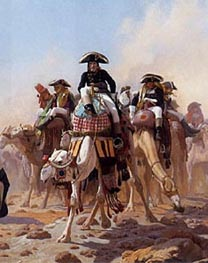 Gerome | Napoleon and His General Military Staff in Egypt (Detail), 1867 | Giclée Canvas Print