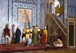 Gerome | The Blue Mosque, 1878 | Giclée Canvas Print