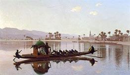 Gerome | Excursion Of The Harem, 1869 | Giclée Canvas Print