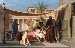 Gerome | Socrates Seeking Alcibiades at the House of Aspasia, 1861 | Giclée Canvas Print