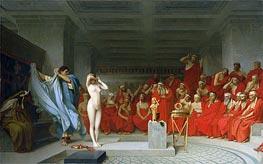 Gerome | Phryne before the Areopagus, 1861 | Giclée Canvas Print
