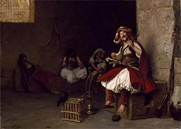 Gerome | Bashi-Bazouk Singing, 1868 | Giclée Canvas Print