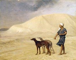 Gerome | On the Desert, b.1867 | Giclée Canvas Print