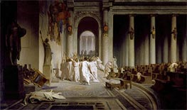 Gerome | The Death of Caesar, c.1859/67 | Giclée Canvas Print