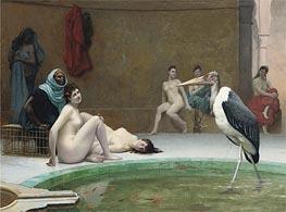 Gerome | Moorish Bath (Le Marabout), c.1889 | Giclée Canvas Print