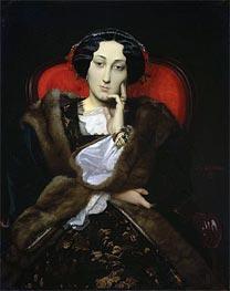 Gerome | Portrait of a Woman, 1851 | Giclée Canvas Print