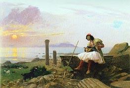 Gerome | Guitar Player (Greek Singer), undated | Giclée Canvas Print