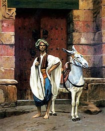 Gerome | Sais and His Donkey, undated | Giclée Canvas Print