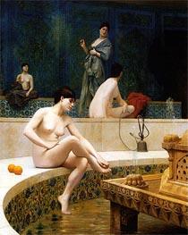 Gerome | Bathers of the Harem, 1901 | Giclée Canvas Print