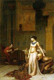 Gerome | Cleopatra Before Caesar, 1866 | Giclée Canvas Print