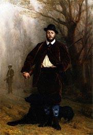 Gerome | Portrait of Edouard Delessert, 1864 | Giclée Canvas Print