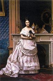 Gerome | Portrait of Marie Gerome, 1870 | Giclée Canvas Print