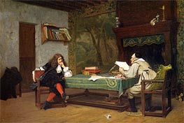 Gerome | A Collaboration Corneille and Moliere, 1873 | Giclée Canvas Print