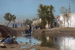 Gerome | Fellah Women Drawing Water, c.1873/75 | Giclée Canvas Print