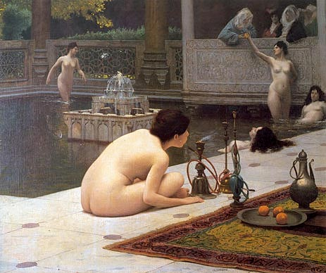 The Teaser of the Narghile (The Pipelighter), c.1898 | Gerome | Painting Reproduction