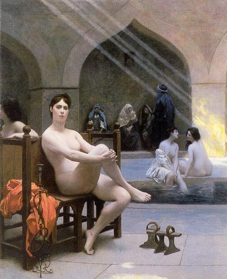 The Women's Bath, 1889   Gerome   Painting Reproduction