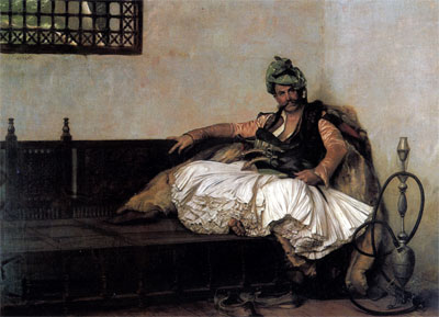Bashi Bazouk Chief, 1881 | Gerome | Painting Reproduction