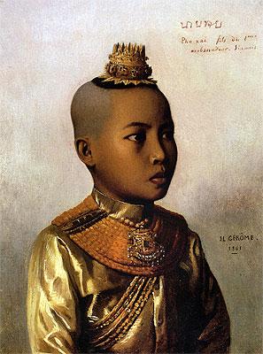 Pho Xai (Nai Sombun), 1861 | Gerome | Painting Reproduction