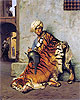 Gerome - Pelt Merchant of Cairo - Art Print / Posters