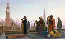 Gerome - Prayer in Cairo (Prayer on the Rooftops of Cairo) - Art Print / Posters