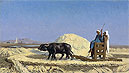 Gerome - Egyptian Grain-Cutters - Art Print / Posters