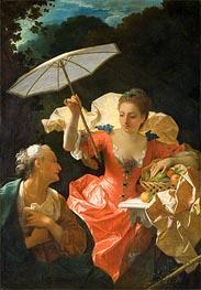 Jean Ranc | Vertumnus and Pomona, c.1710/22 | Giclée Canvas Print