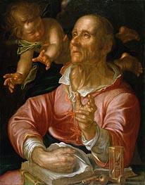 Joachim Wtewael | Saint Matthew, c.1616 | Giclée Canvas Print