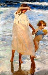 Sorolla y Bastida | Two Sisters, Valencia, 1909 | Giclée Canvas Print