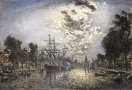 Jongkind | Rotterdam, 1881 | Giclée Canvas Print