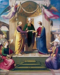 Overbeck | The Marriage of the Virgin, 1836 | Giclée Canvas Print
