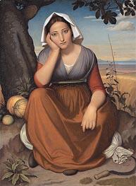 Overbeck | Vittoria Caldoni, 1821 | Giclée Canvas Print