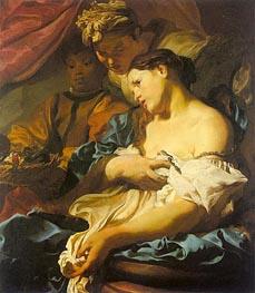 Johann Liss | The Death of Cleopatra, c.1624/25 | Giclée Canvas Print