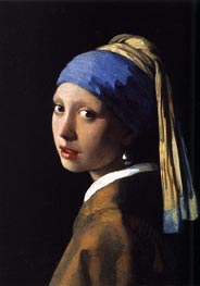 Vermeer | The Girl with a Pearl Earring | Giclée Canvas Print