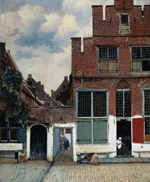 Vermeer | The Little Street | Giclée Canvas Print